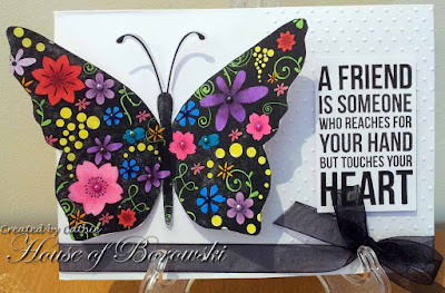 Diecut Divas, Bugaboo Silhouette Butterfly.