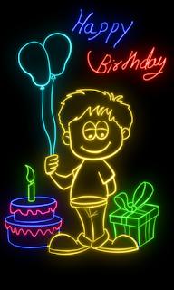 Glow Draw - Aplikasi Android untuk membuat Tulisan Menyala