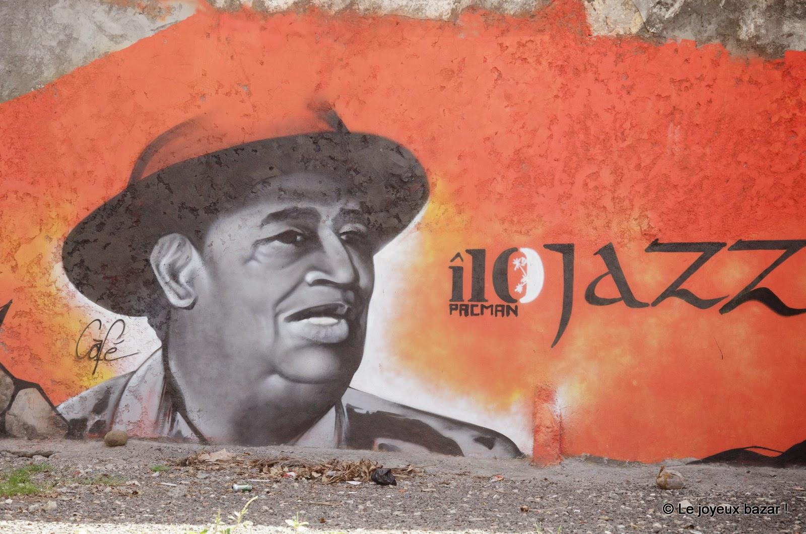 Guadeloupe - Pointe à Pitre  - street art - Pacman