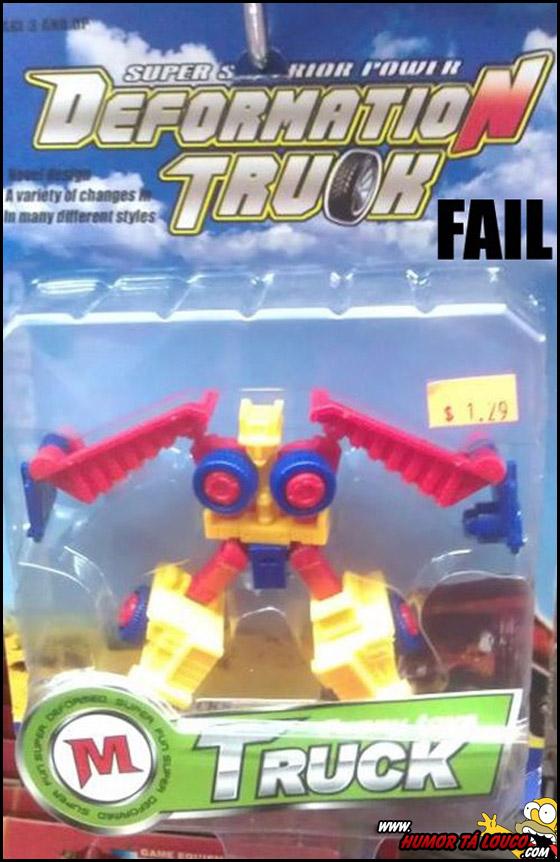 Destruindo sua infância - Brinquedo Deformation Truck
