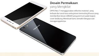 OPPO Neo 7 Smartphone Android 5 inch Harga Rp 2 Jutaan
