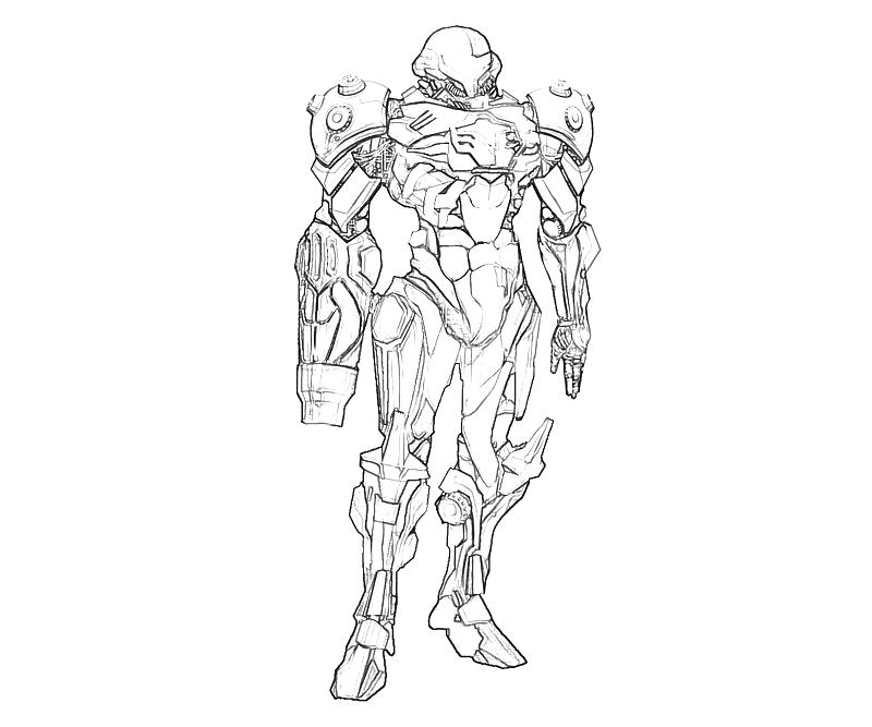 printable samus aran best coloring pages