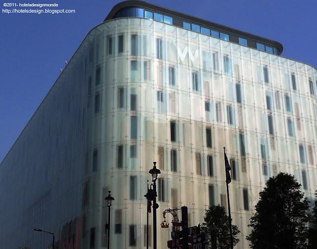 les plus beaux hotels design du monde h tel w london leicester square by jestico whiles. Black Bedroom Furniture Sets. Home Design Ideas