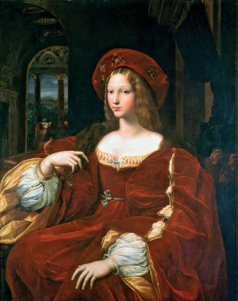 giulio romano woman portrait