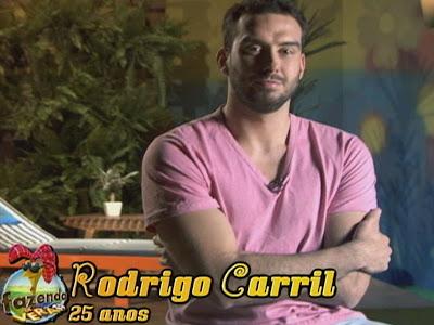 Rodrigo Carril, um dos participantes da Fazenda de Verão - Fotos, Vídeos e Ficha Técnica