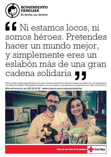 Dossier informativo sobre Acogimiento Familiar de Cruz Roja Española.