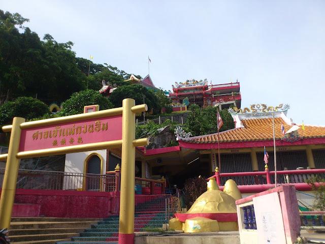 Китайский храм, остров Ко Си Чанг