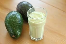 bahan dan proses pembuatan jus alpukat milk shake