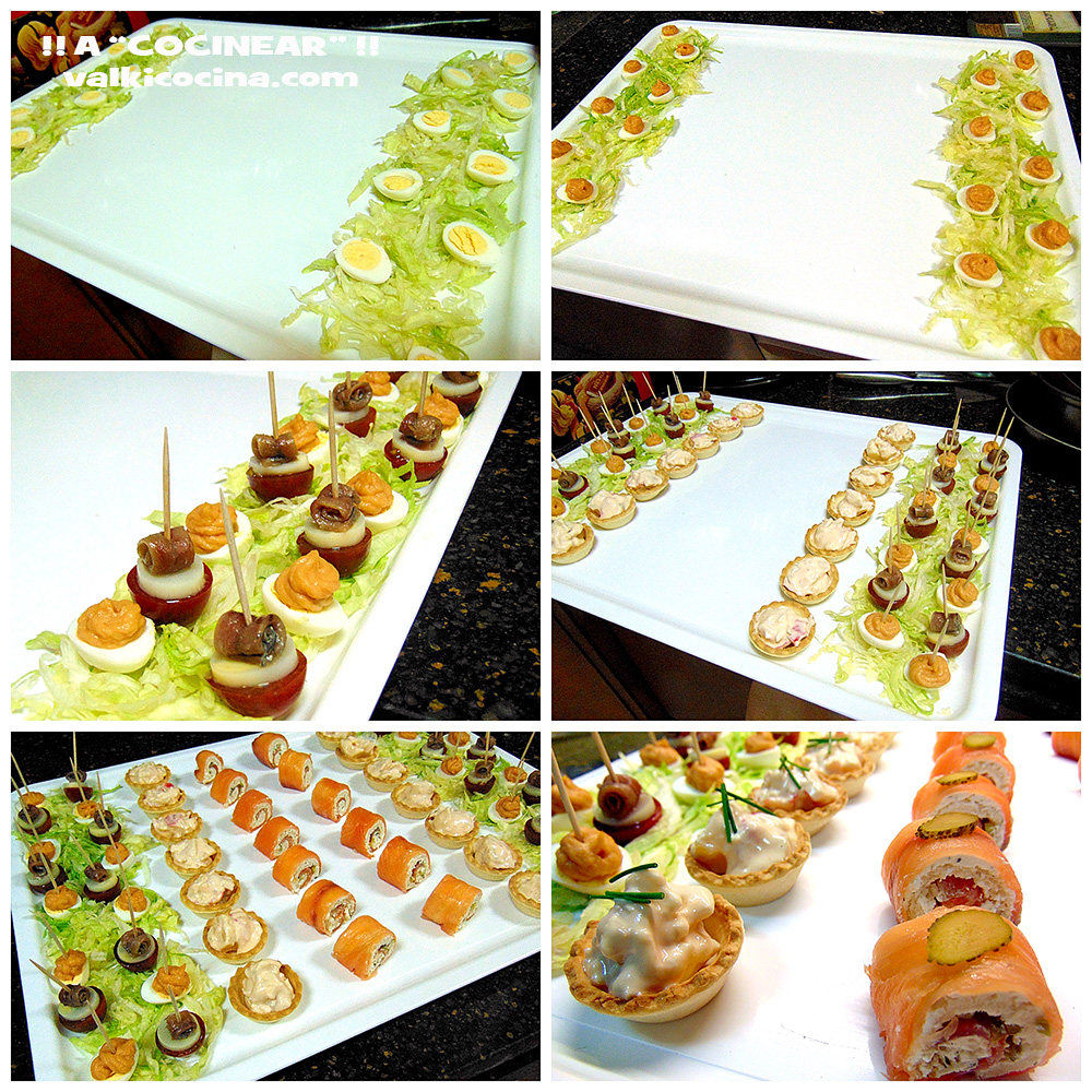 Canap s variados for Canapes faciles y economicos