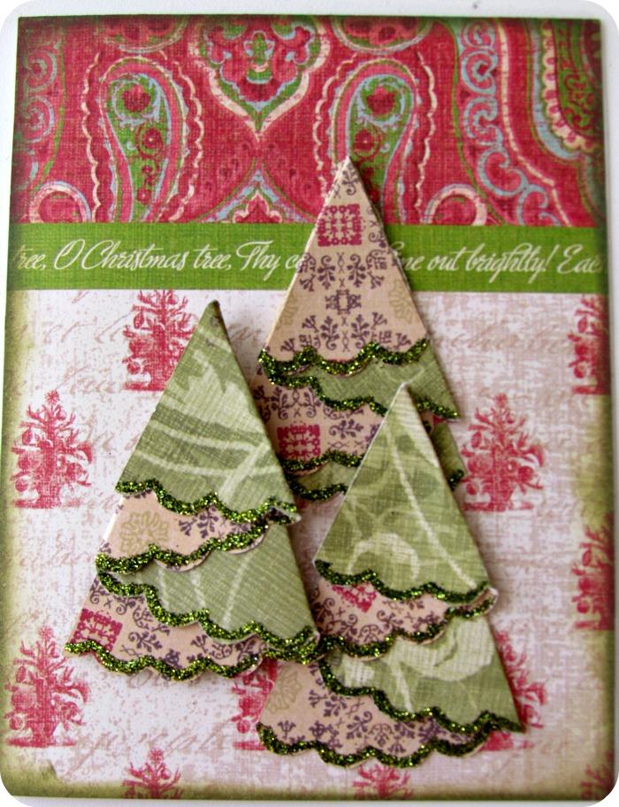 Etcetorize o christmas tree for Christmas tree cards to make