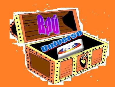 Logotipo da rubrica Baú Universo SIC