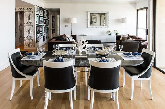 Decoratelacasa blog de decoraci n decoraciones en blanco y negro - Comedor blanco y negro ...