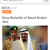 Innalillahi, Raja Arab Saudi Meninggal