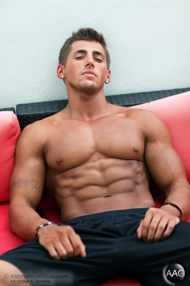 ... fitness model. He built his muscles or the massive and well-defined