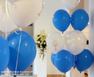 Komunia - balony
