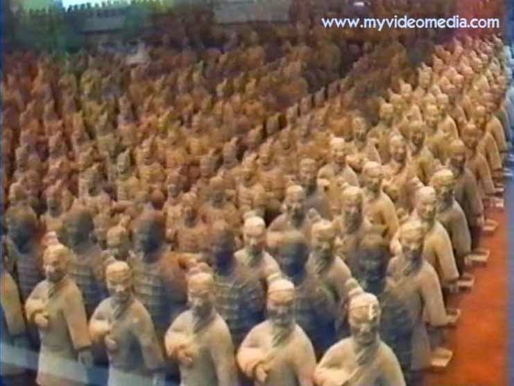 Traveling exhibition of the little terracotta army in Shenzhen