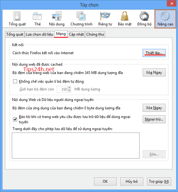 Lướt web ẩn danh với proxy trên trình duyệt Firefox