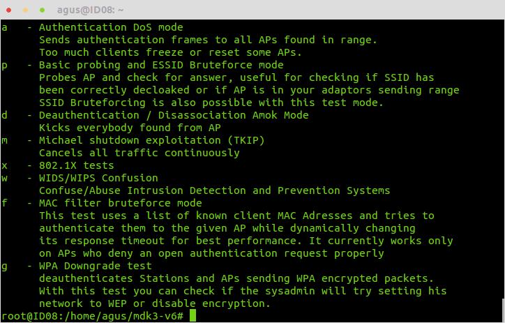 Cara Menginstal MDK3 di Linux Ubuntu