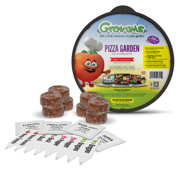 ... delight in the interactive learning experience of Growums Garden Kits