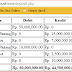 Tutorial Accounting Debit, Kredit dengan PHP