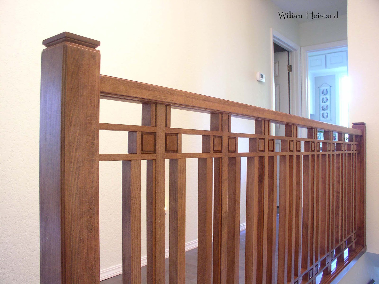 Heistand Woodwork Arts And Crafts Baluster And Skylight