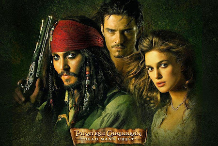 Poster Of Pirates of the Caribbean: Dead Man's Chest In Dual Audio Hindi English 300MB Compressed Small Size Pc Movie Free Download Only At cintapk.com