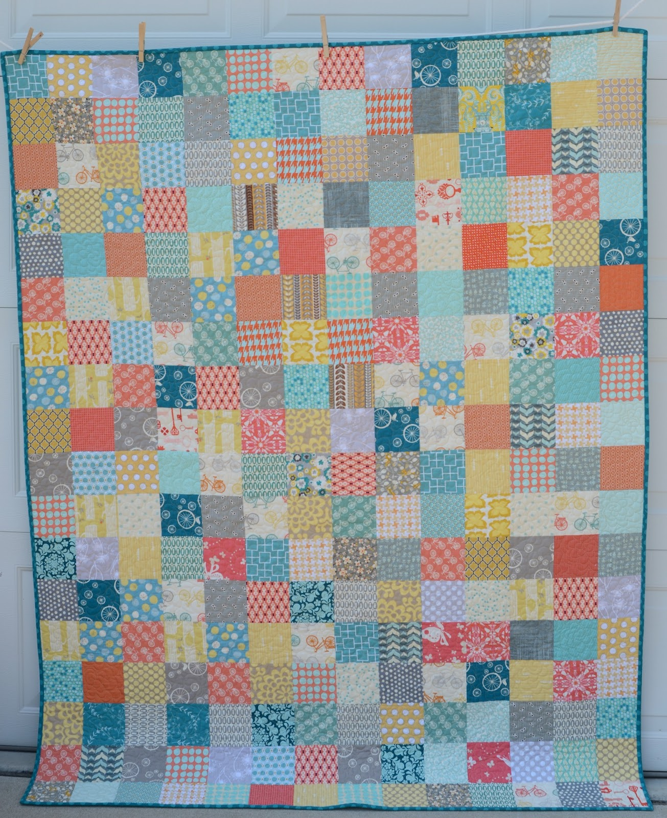 Hyacinth Quilt Designs: A Simple Patchwork quilt