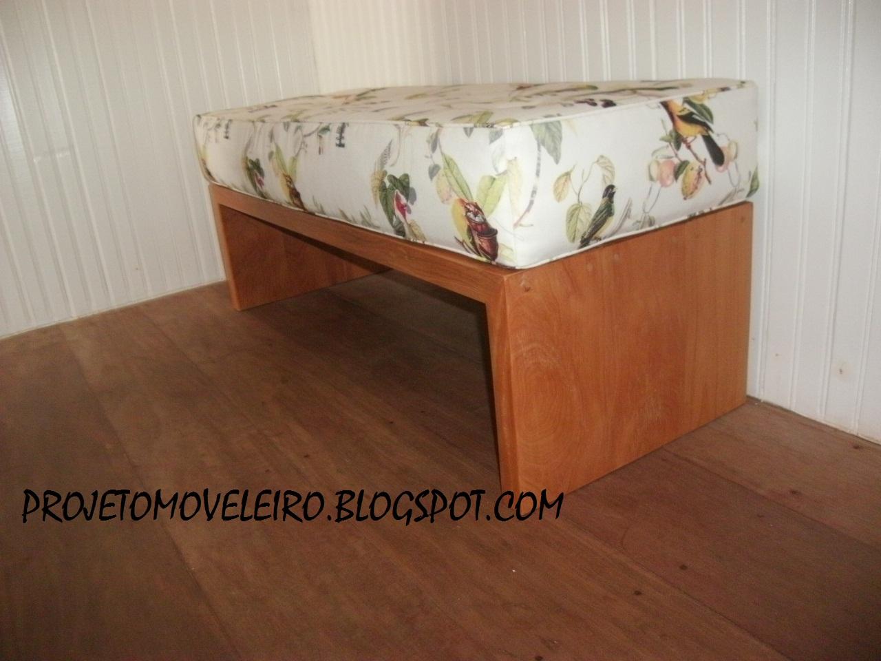 SOB MEDIDA: Banco feito com Peroba de demolição e estofado de futon #995732 1280x960