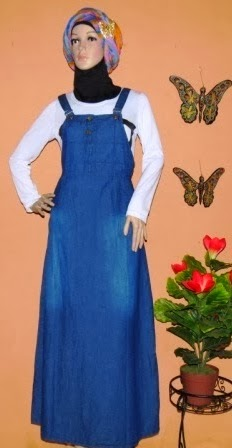 Overall Jeans Gamis Murah