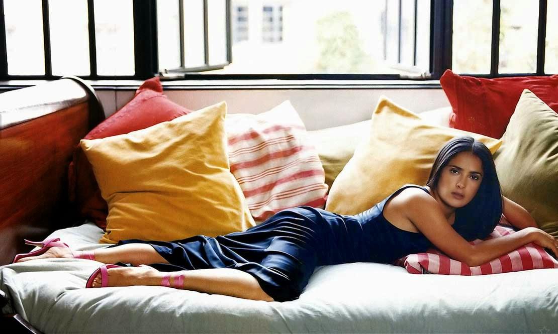 Salma Hayek Awesome Hot Photoshoot