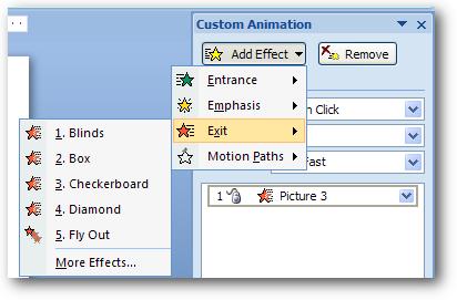 Cara Mudah menambahkan Gambar/Animasi bergerak pada gambar di MS Power ...
