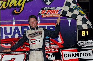 Bobby wins Kankakee ALMS feature 5-9-2014