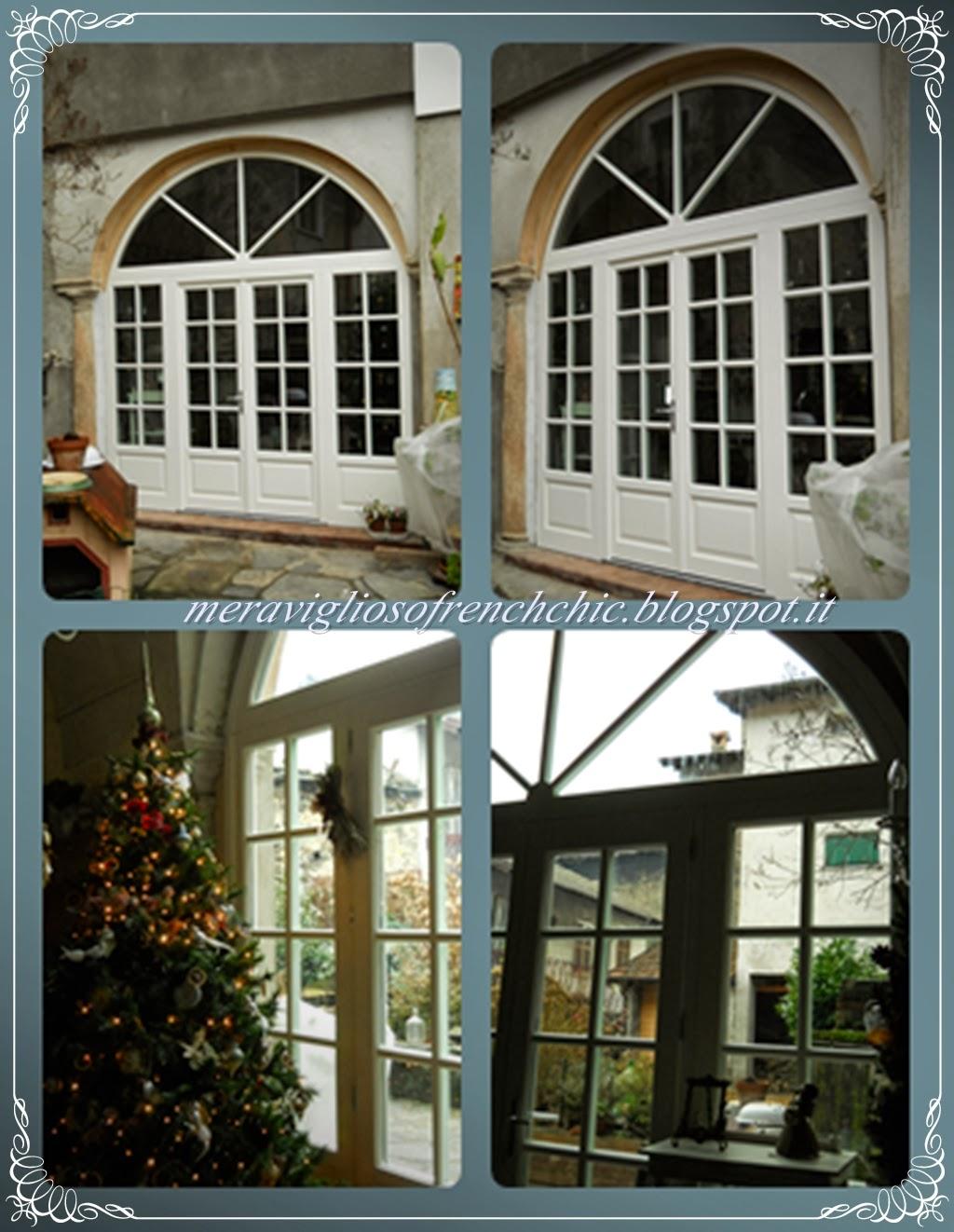 Meraviglioso French Chic : Babbo Natale e.......la veranda nuova