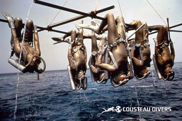 How band Aqualung gotbtheir name - Cousteau divers