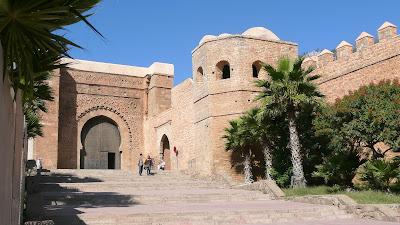 Bab Oudaia gate, Rabat, Morocco