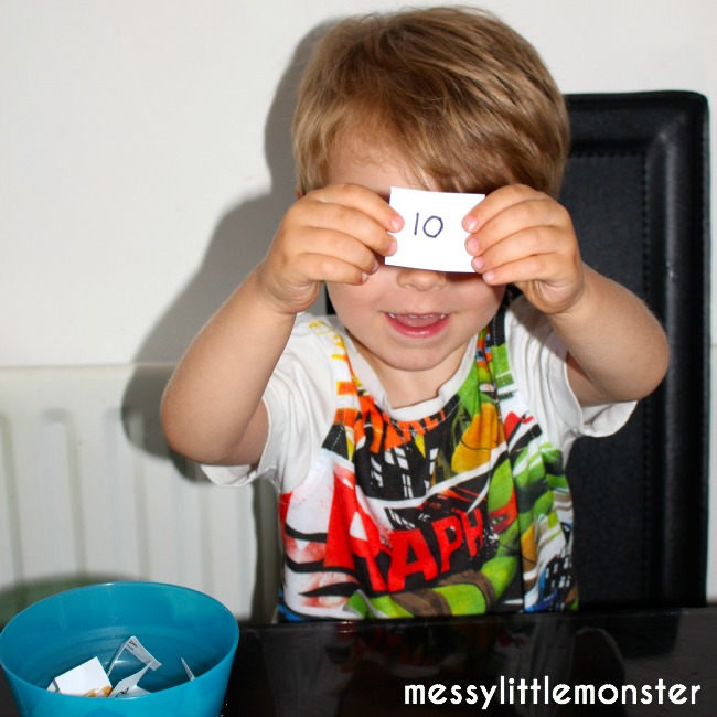 Learn to count Monster Maths Game