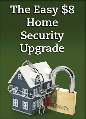 The easy to install, energy efficient $8 home security upgrade, via A Maryland Matisse blog.