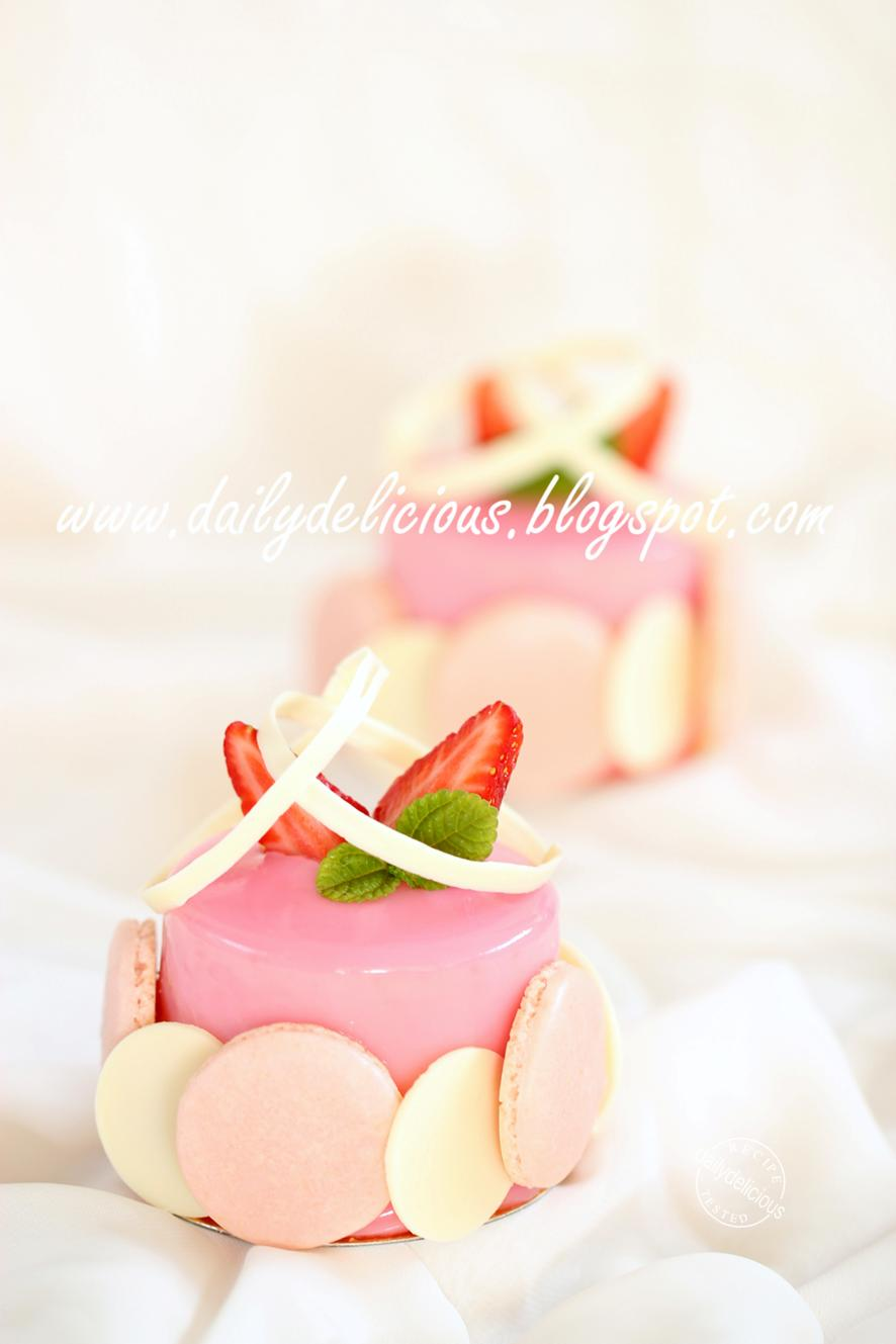 dailydelicious: Chaleur: Strawberry and white chocolate ...