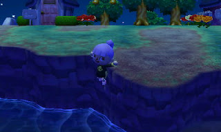 animal crossing cliff diving