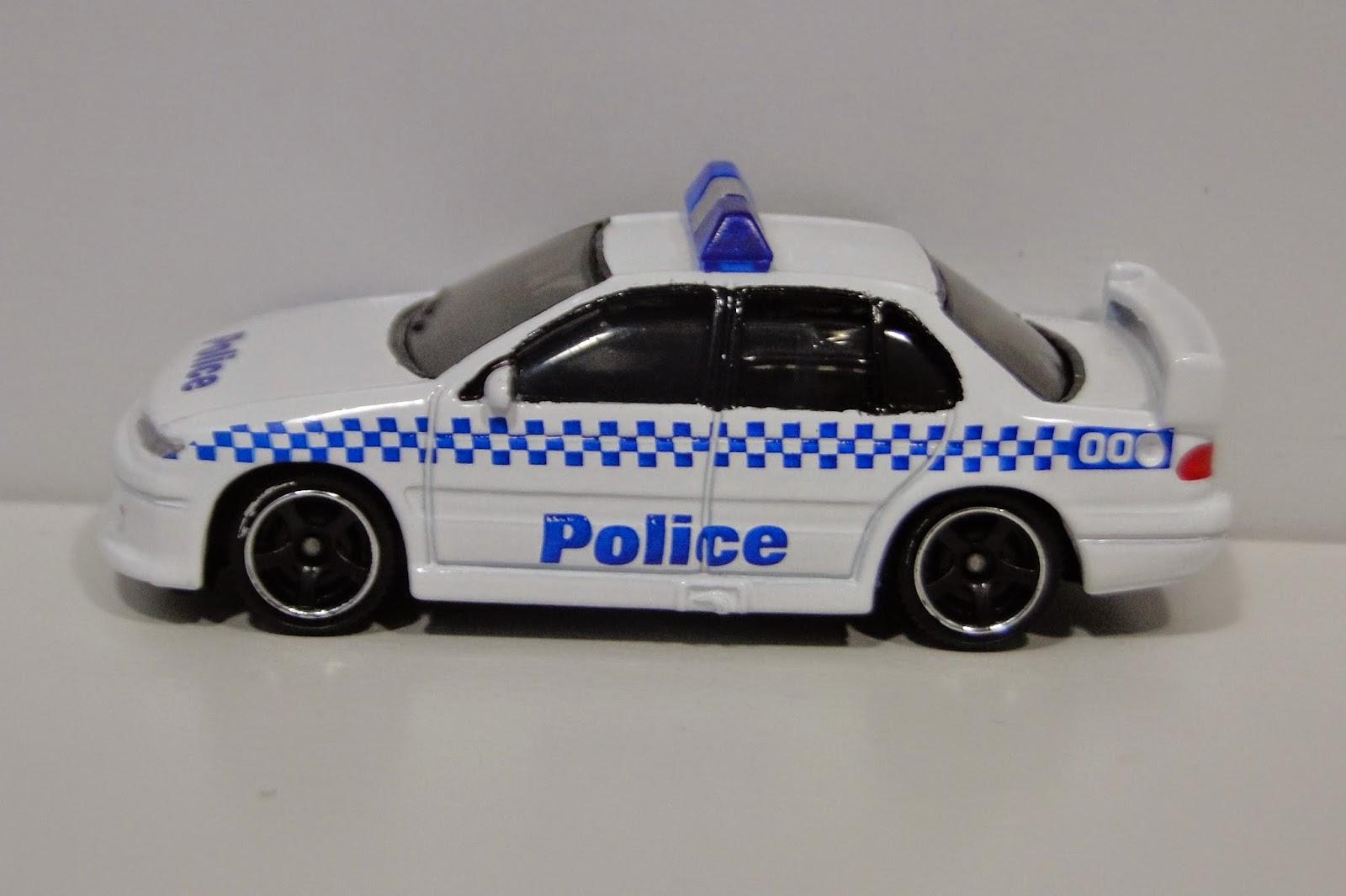 3inchDiecastBliss: Custom Matchbox Ford Falcon Police