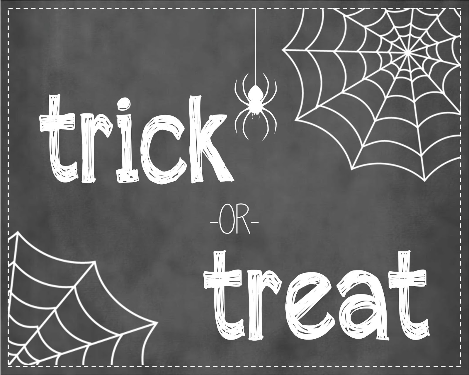 photo regarding Halloween Signs Printable named 2 Magical Mothers: 8x10 Chalkboard Halloween Signs or symptoms Cost-free