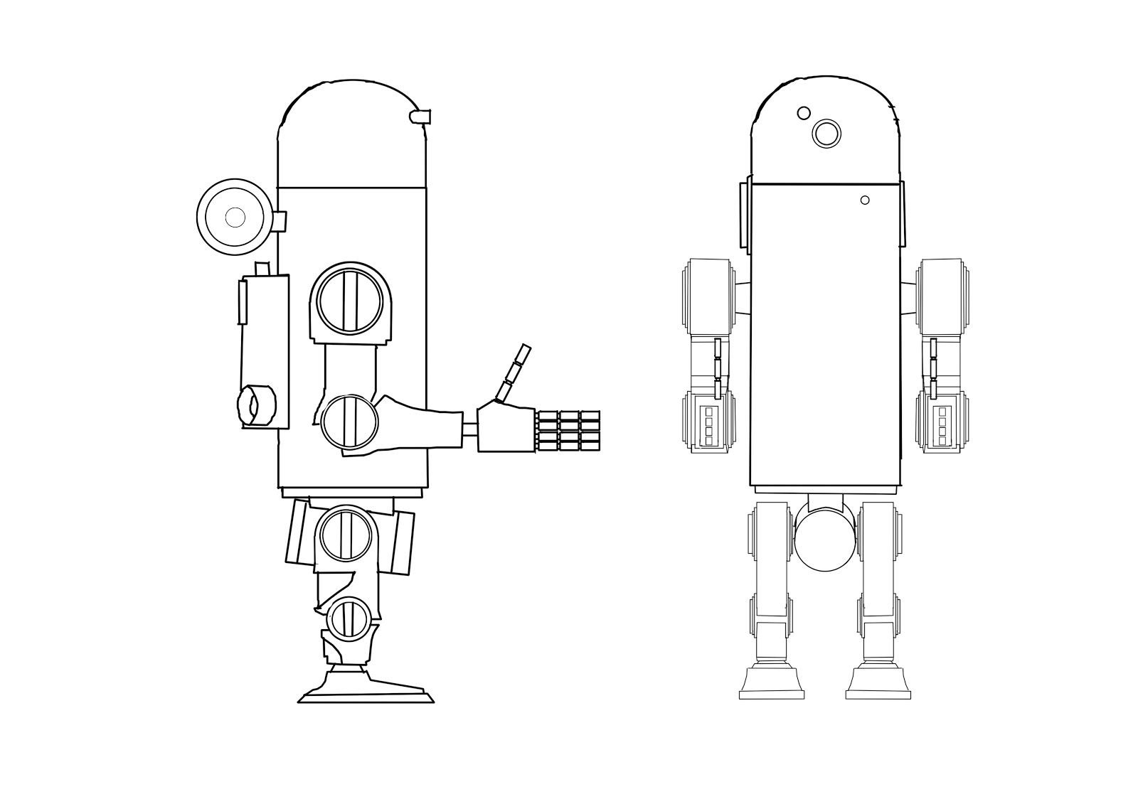 how to create a simple robot