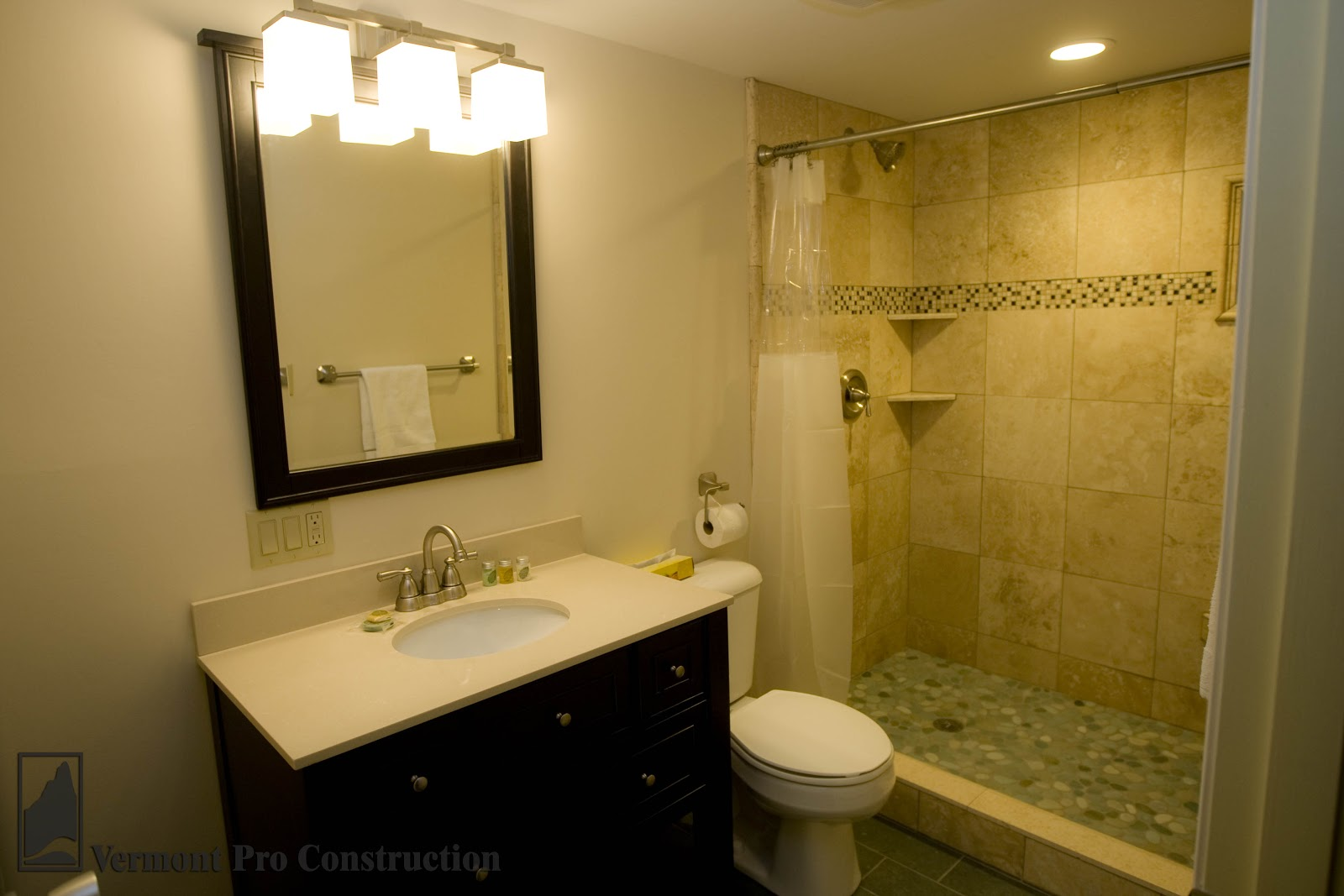 Vermont professional construction painting llc tolchin for Simple cheap bathroom designs