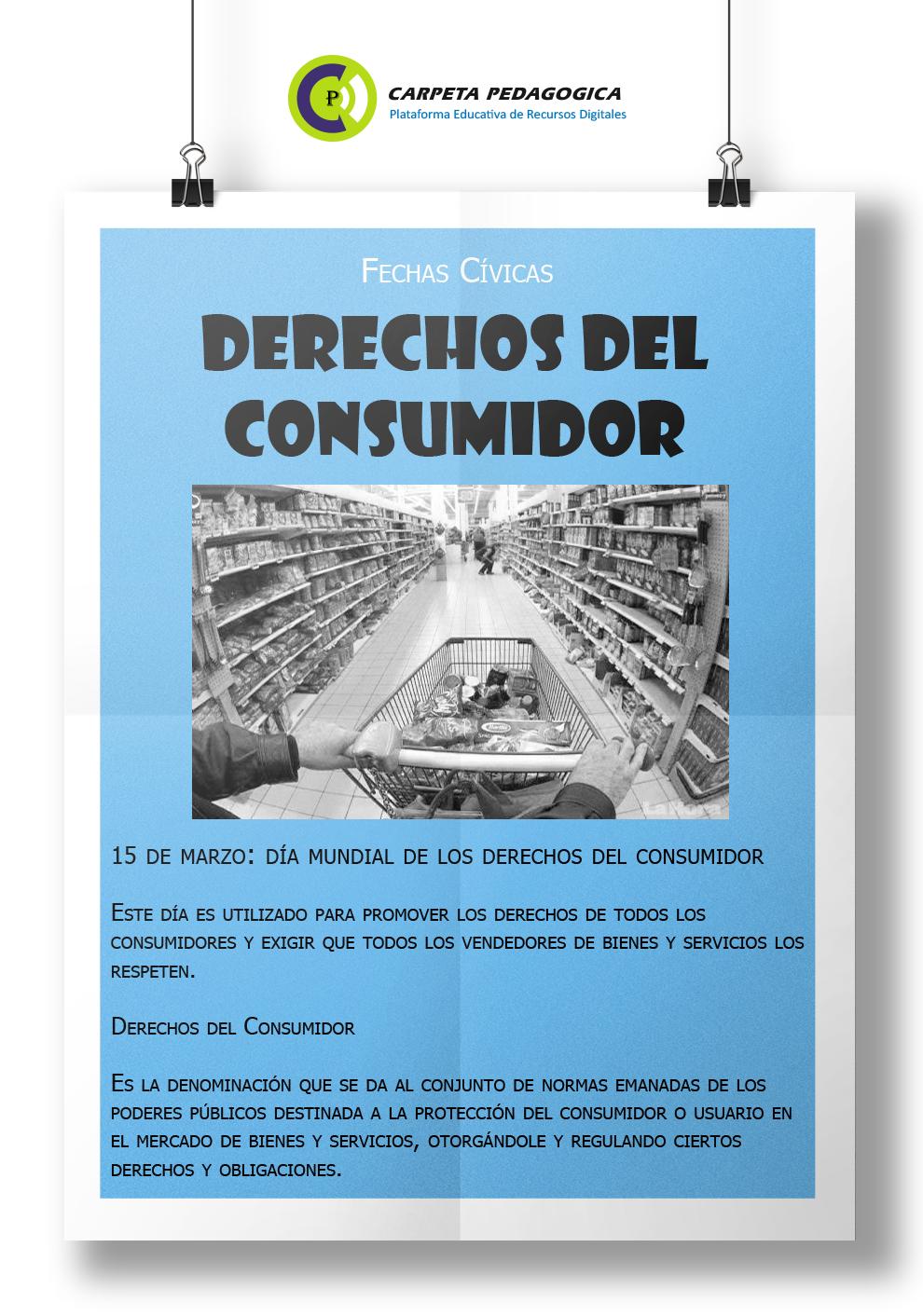 Día Mundial de los derechos del consumidor (15 de marzo)