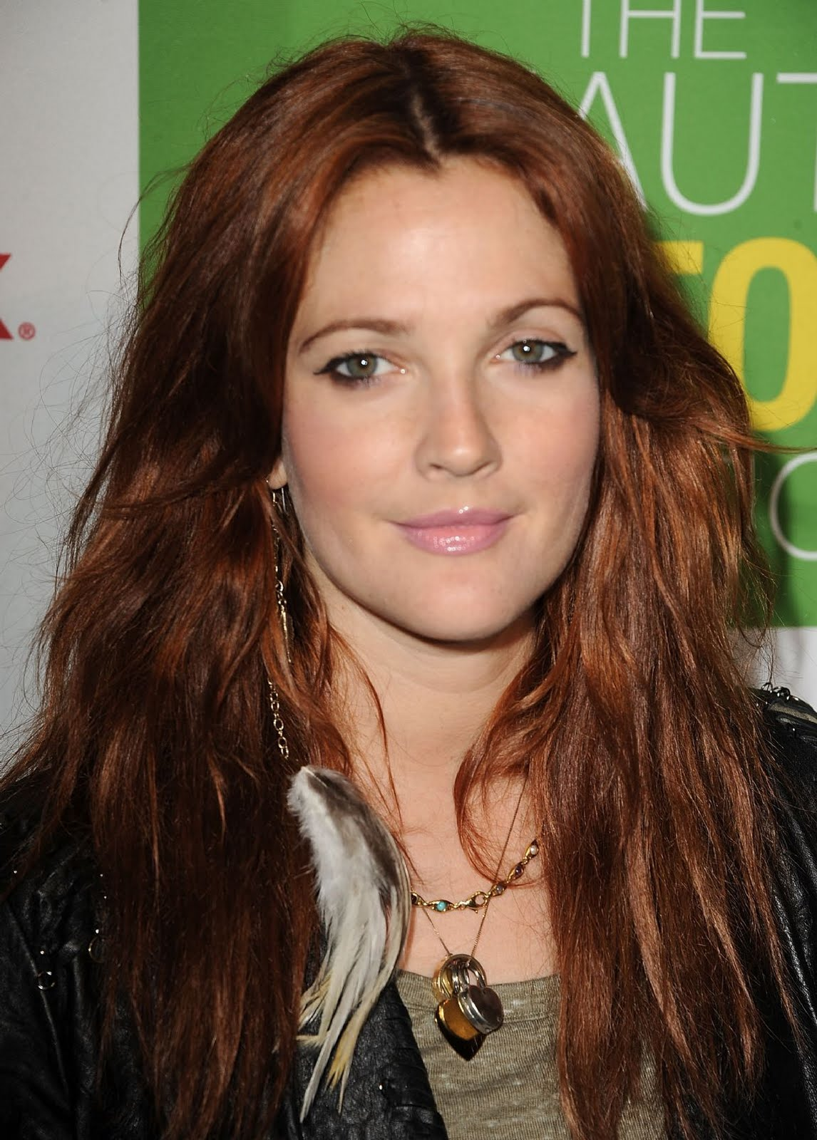 Drew Barrymore's Red Hair