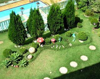 decoração para jardins