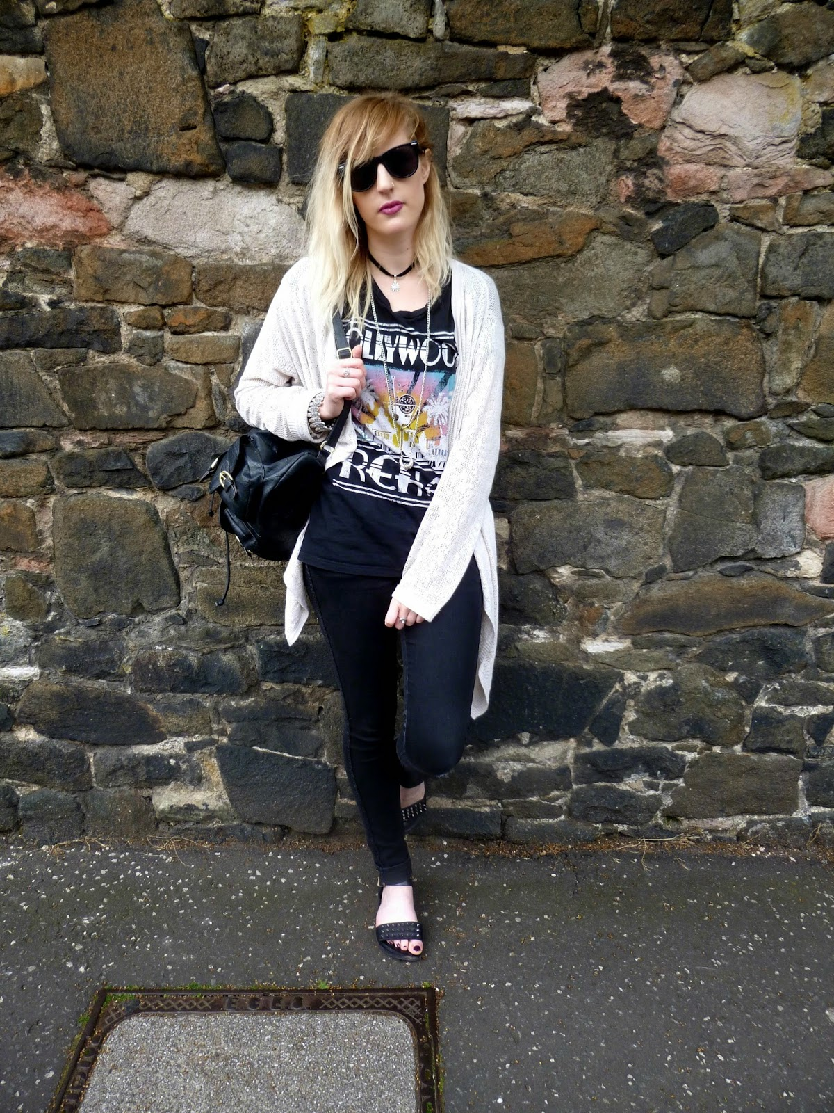 Edinburgh street style, a casual vintage outfit