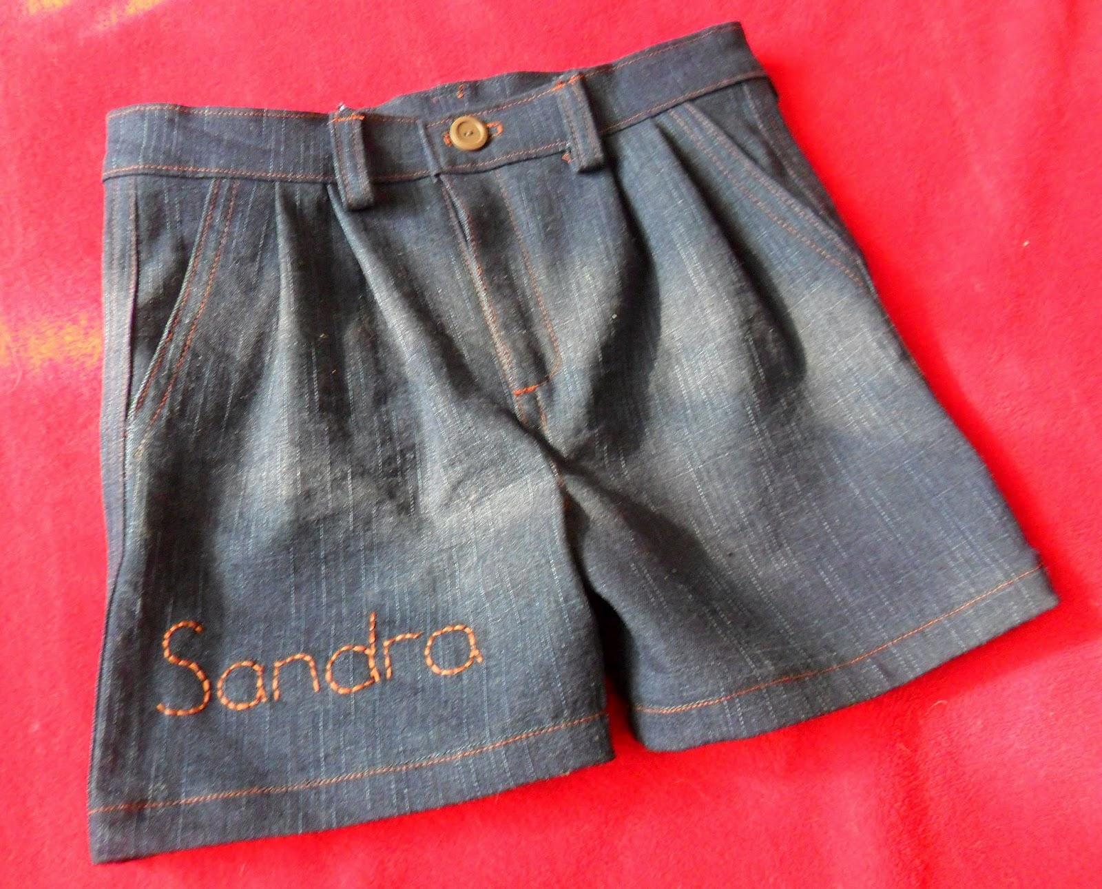 Сшить из джинсов шорты