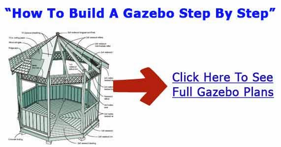 Gazebo building plans methods for gazebo construction for Build a house yourself