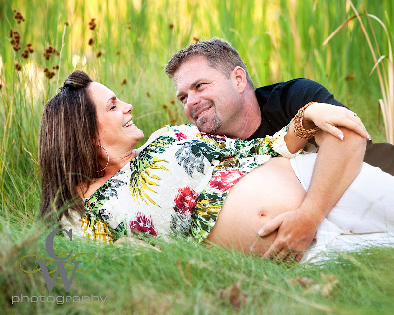 Maternity portrait, Long Beach